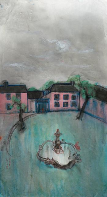 Zheng Zaidong, '瑞金宾馆 Rui Jin Guesthouse', 2016, Painting, Ink and color on paper, Matthew Liu Fine Arts