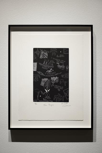 , 'Four Prayers,' 2010, Sage Culture