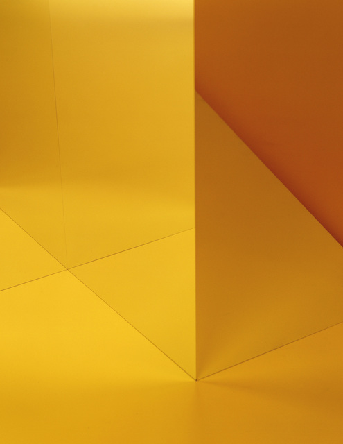 , 'Raum-Gelb-01,' 2017, Galerie Peter Kilchmann