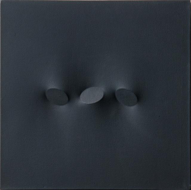 , 'Tre Ovali Nero,' 1994, Galerie Andreas Binder