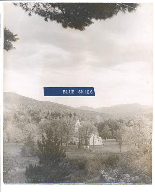 , 'Blue Skies,' 2017, Albert Merola Gallery
