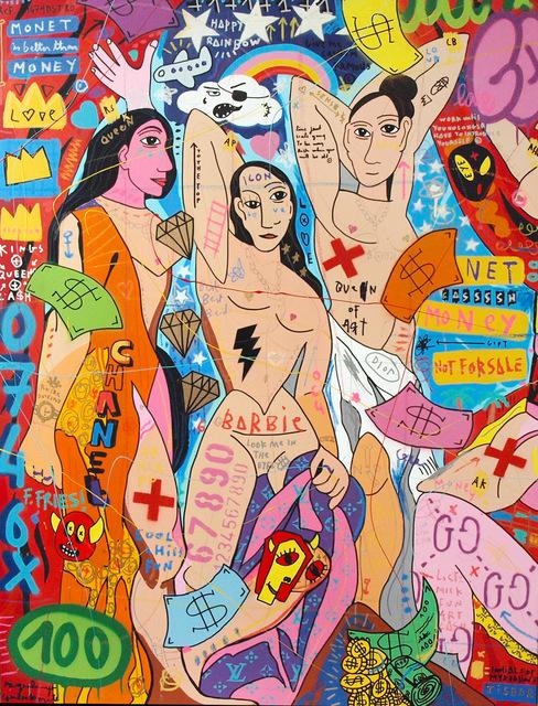 , 'Picasso Girls,' 2018, Galerie Montmartre
