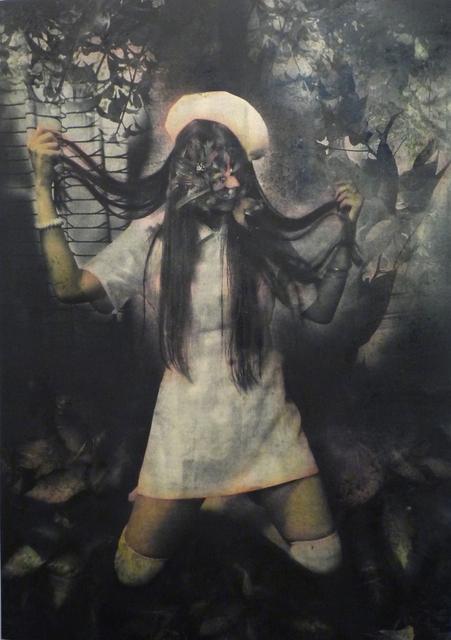 Misako Kobayashi, 'Makeup', 2011, Print, Etching and hand colored lithograph, Japigozzi Collection