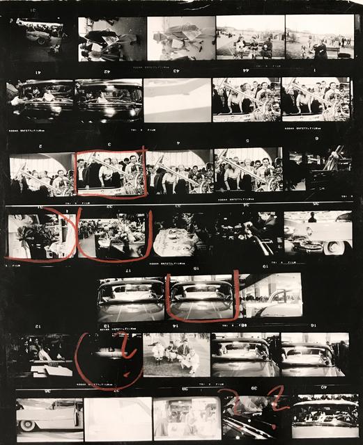 , 'Contact Sheet #11,' 2009, Danziger Gallery