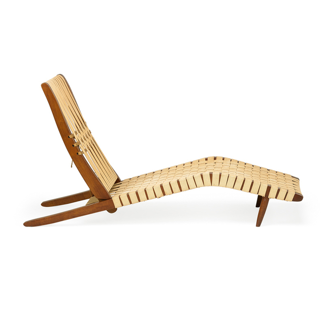 George Nakashima, 'Long chair, New Hope, PA', Rago