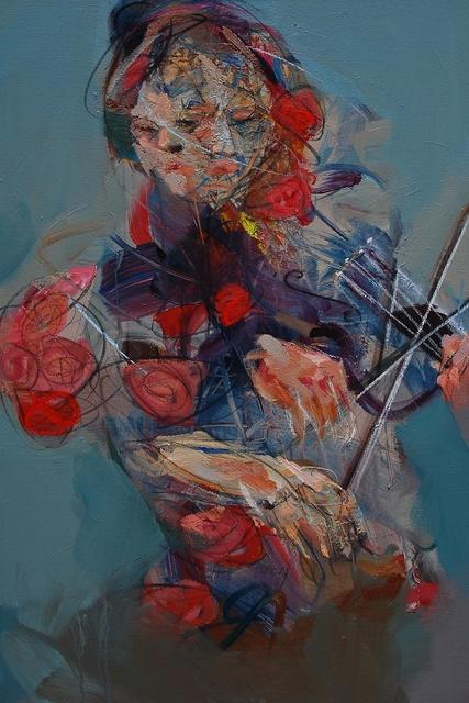 , 'Violinist,' 2015, BLINK Gallery