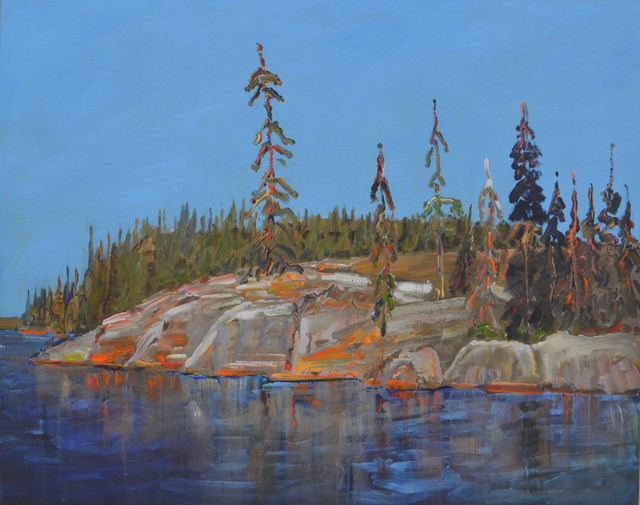 Gregory Hardy, 'Rocks and Trees, Late August', Visions West Contemporary