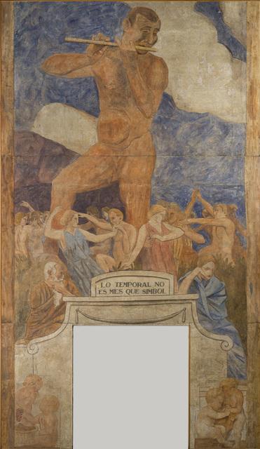 , 'Lo temporal no és més que símbol (The temporal is no more than symbol),' 1916, The Museum of Modern Art