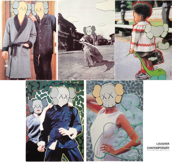 KAWS, 'KAWS x Undercover Set (Five Works)', 1999, Lougher Contemporary