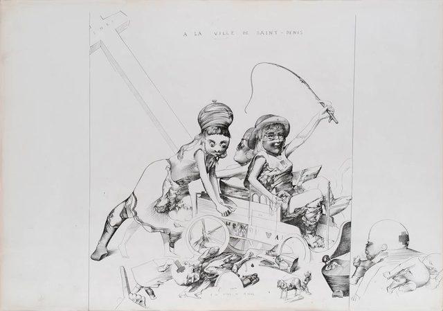, 'À la ville de Saint-Denis,' 1974, Jeanne Bucher Jaeger