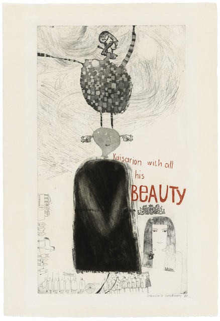 David Hockney, 'Kaisarion with all his Beauty', 1961, Christie's