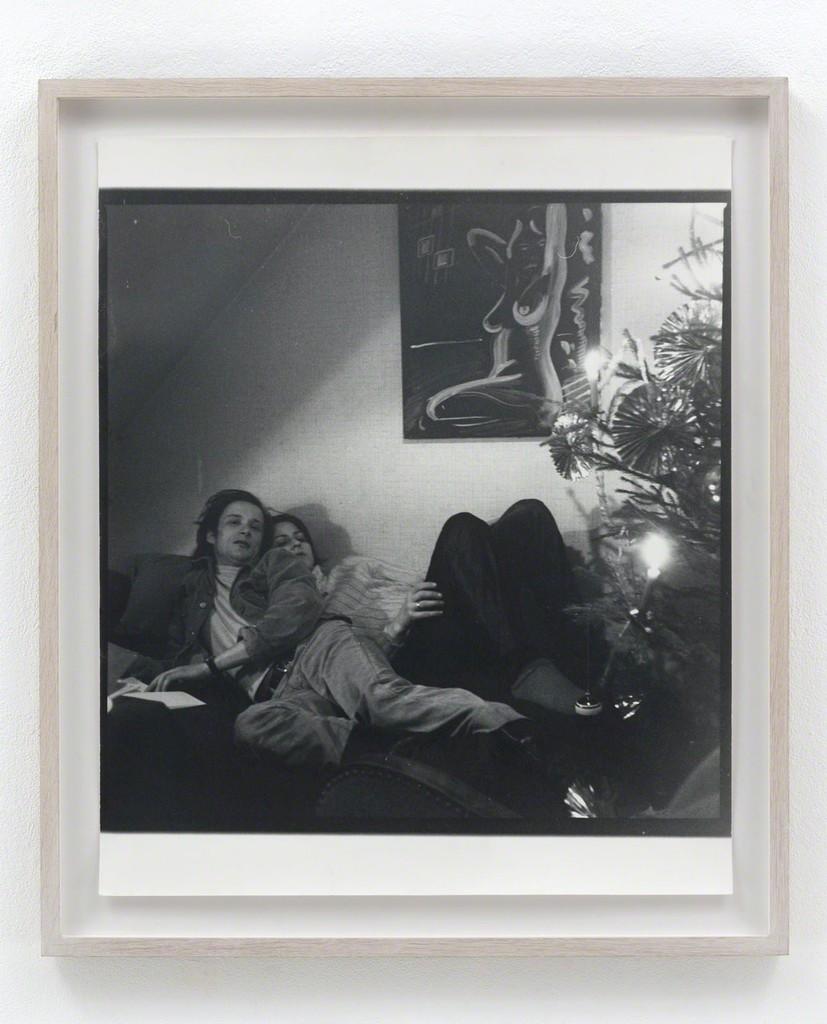 Sigmar Polke Ohne Titel (Blinky Palermo), 1969/1988-1990 Gelatin silver print Unique 60.3 x 50.7 cm / 23 3/4 x 20 in Framed: 71.8 x 62.4 x 3.8 cm