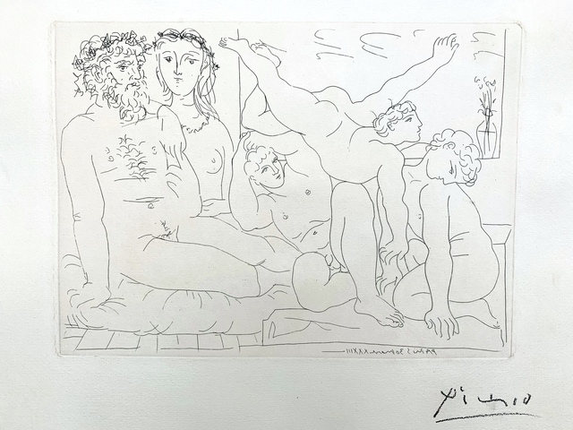Pablo Picasso, 'Famille de Saltimbanques', 1933, Van der Vorst- Art