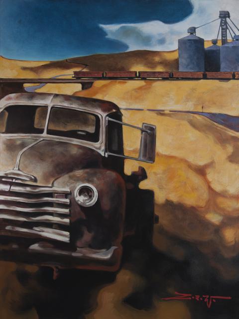 , 'Railcar Passing,' 2017, Patricia Rovzar Gallery