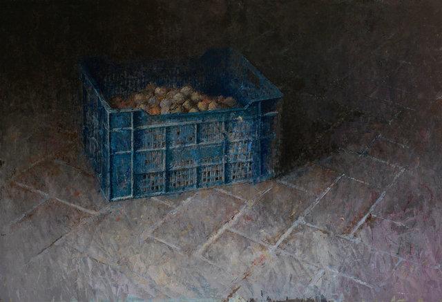 , 'La caja azul,' ca. 2019, GALERIA JORDI BARNADAS
