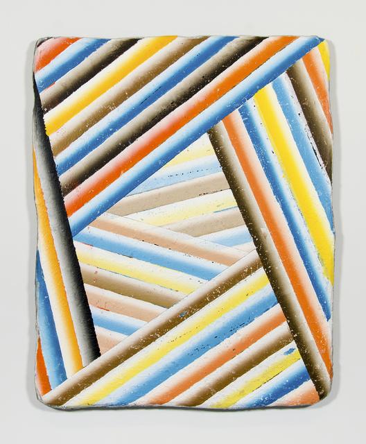 , 'SSS Tube (Aerial Perspective),' 2017, Morgan Lehman Gallery