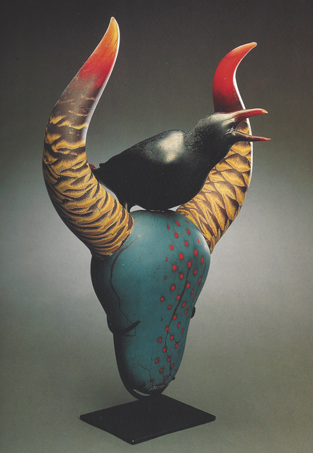 , 'Raven With Horns,' 1998, Abmeyer + Wood Fine Art