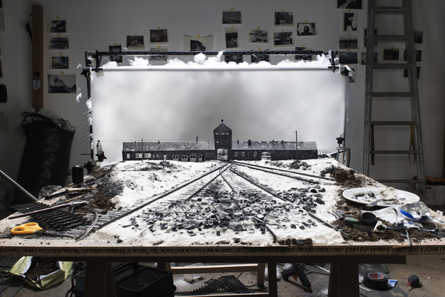 "Cortis & Sonderegger, 'Making of ""KZ Auschwitz, Gateway"" (by Stanlislaw Mucha, 1945)', 2015, East Wing"