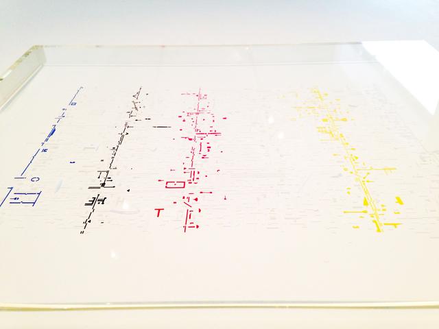 , 'Drawriter (Detail),' 2016, Galería del Paseo