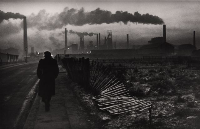 Don McCullin, 'Early morning, steel foundry, West Hartlepool, UK', 1963, Photography, Early 1980s silver gelatine fibre-based print, David Hill Gallery