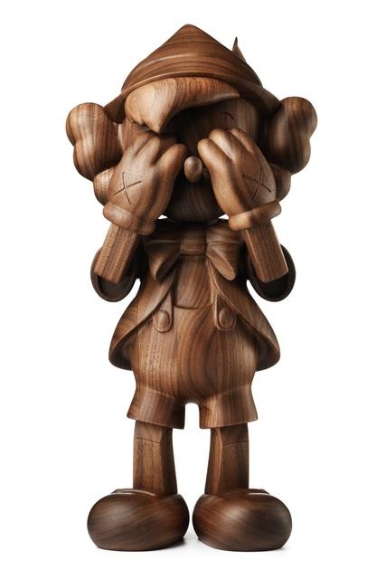 KAWS, 'Pinocchio', 2018, Sculpture, Wood, Carmichael Gallery