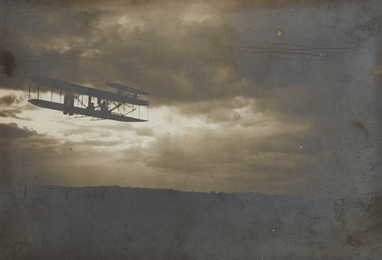Unknown Artist, 'Wilbur Wright in Flight,' 1909, Phillips: The Odyssey of Collecting