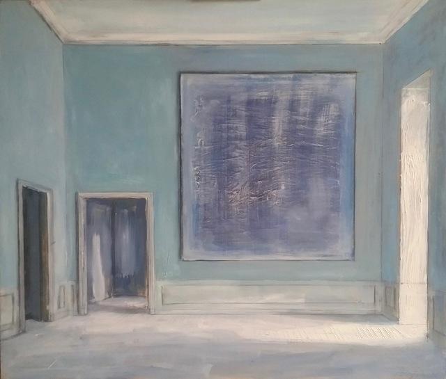 , 'The Blue Painting,' 2018, Octavia Art Gallery