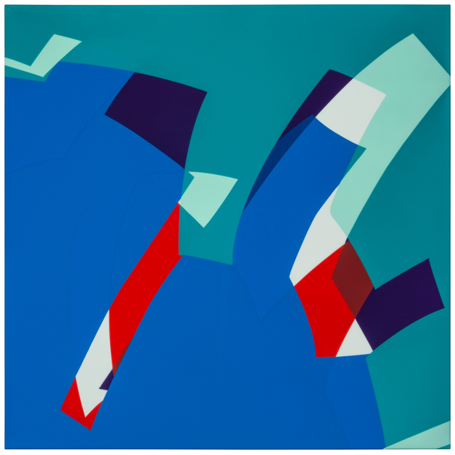 , 'MTCAL 6/2 Verde - Azul,' 2017, Marion Gallery