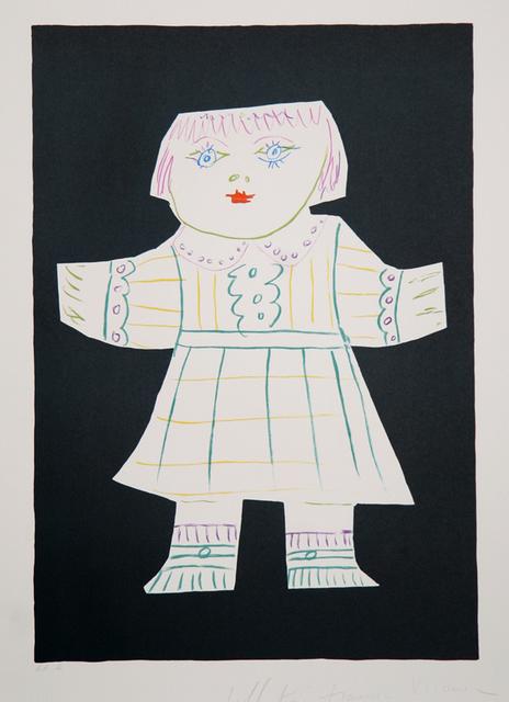 Pablo Picasso, 'Une Poupee Decoupee, 1952', 1979-1982, Print, Lithograph on Arches paper, RoGallery