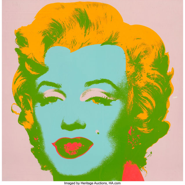 Andy Warhol, 'Marilyn Monore (Marilyn)', 1967, Print, Screenprint in colors on paper, Heritage Auctions