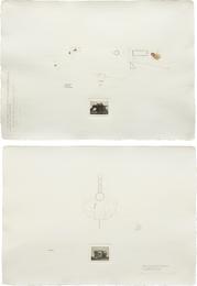 Carlos Garaicoa, 'Two Works: i) Y nos obliga a volar en la misma direccion ii) Ese Silencio Ambiguo,' i) 1999; ii) 1998., Phillips: Latin America