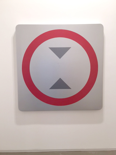 , 'In other words, put it differently, that is to say (Sign),' 2015, Sundaram Tagore Gallery