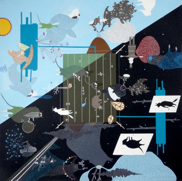 , 'Und die hundelinie?,' 2015, Arróniz Arte Contemporáneo