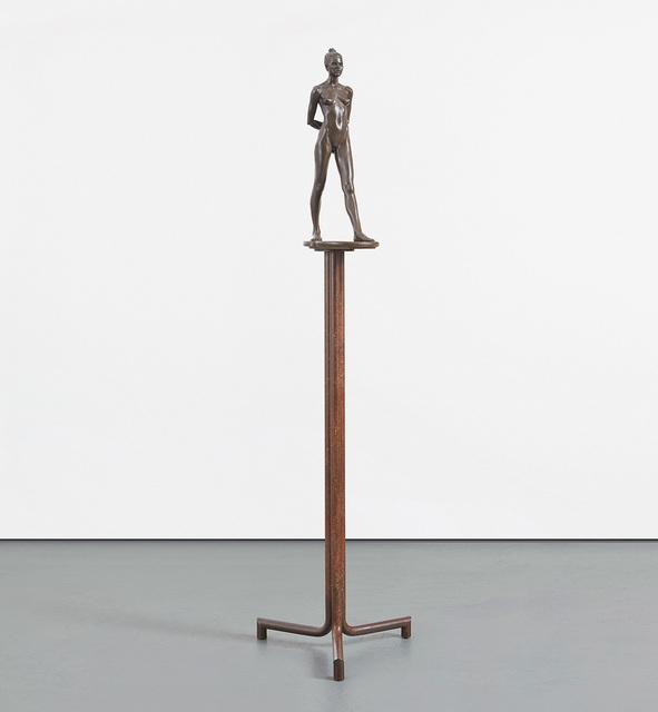 Robert Graham, 'Elisa', Sculpture, Bronze with unique patina and brass base, Phillips