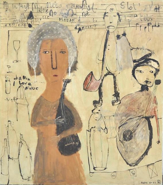 , 'Musician,' 2014, Gallery LVS