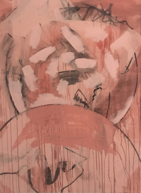 , 'Pink Abstract,' , &gallery