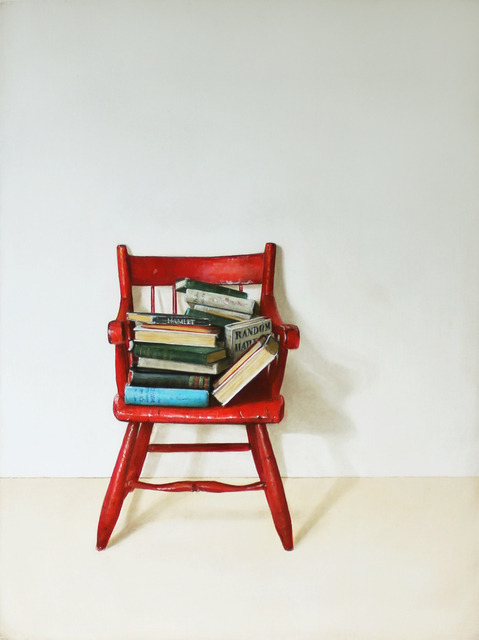 , 'Red Chair,' 2015, Clark Gallery