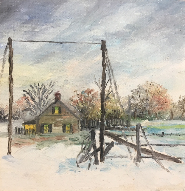 William Vincent Kirkpatrick, 'Where I was Born', Baterbys Art Gallery
