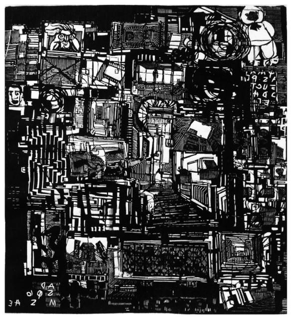 Luisa Estrada, 'Signos y _Memoria', 2017, Eme Espacio de Arte