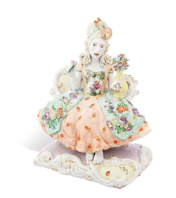 , 'Flora Courtesy MEISSEN COUTURE® Art Collection.],' 2015, Cynthia Corbett Gallery