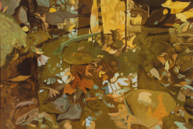 , 'Yellow Leaf Reflections,' 1981, Walter Wickiser Gallery
