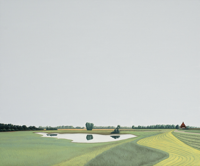 , 'Ooijpolder - Landscape painting,' 2018, Contempop Gallery