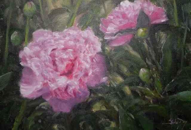 , 'Peonies,' , Sorrel Sky Gallery