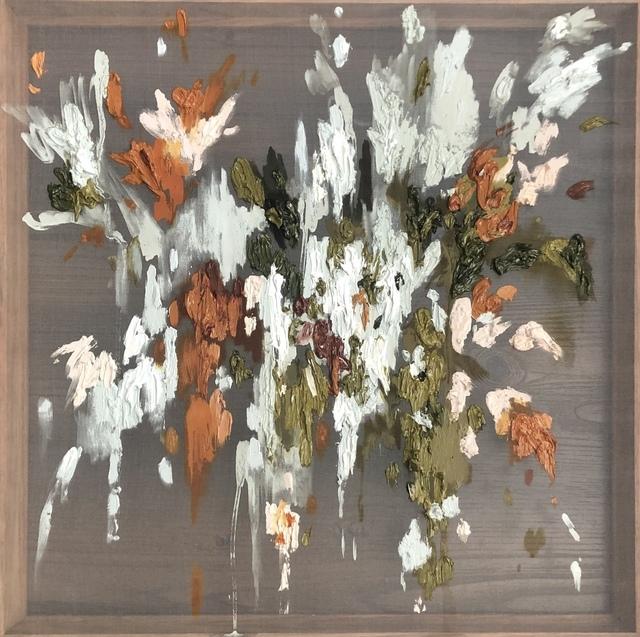 Emma Nourse, 'Scatter II', 2019, Painting, Oil on silk, 99 Loop Gallery