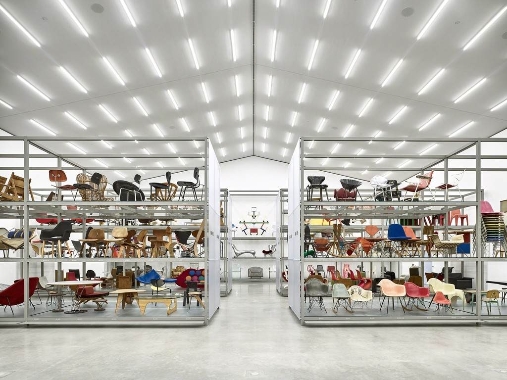 Exhibition view of main hall,