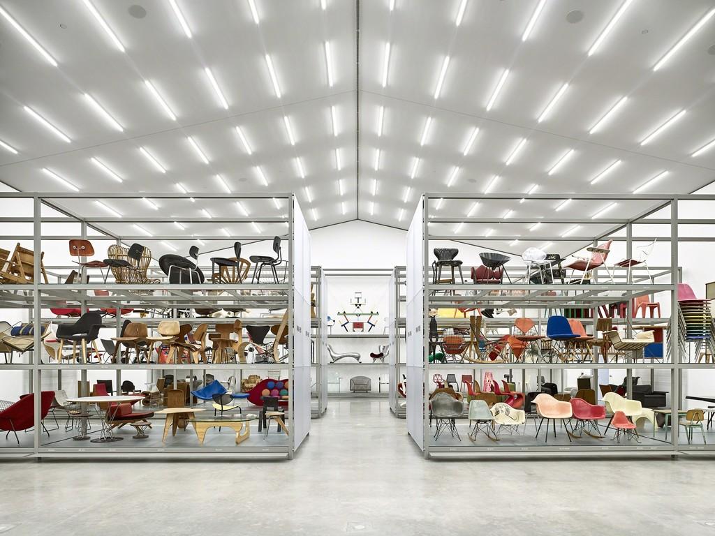 Exhibition view of main hall, photo © Vitra Design Museum, Mark Niedermann