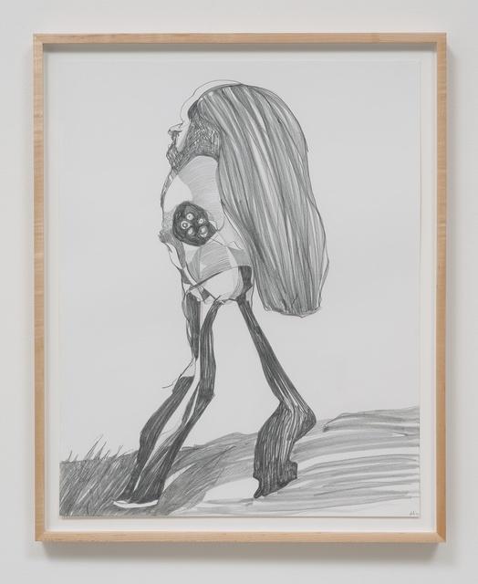 , 'Graphite Drawing #8,' 2014, Rhona Hoffman Gallery
