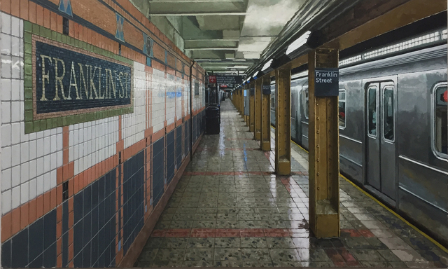 , 'Franklin Street Subway,' 2018, Gallery Henoch