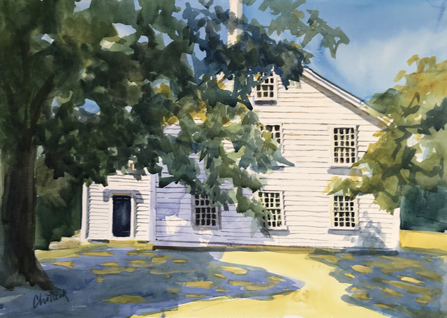, 'Meeting House Shadows,' , Copley Society of Art