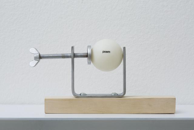 , 'Ping-poem #3.1,' 2014, Galeria Millan